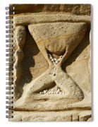 Rock Carvings Between Fillmore Spiral Notebook