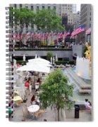 Rock Center Fourth Spiral Notebook