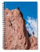 Rock Climbing  Spiral Notebook
