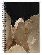 Rock Crystals Spiral Notebook