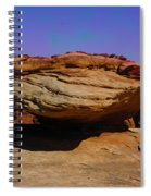 Rock Formation In Canyon De Chelly Spiral Notebook