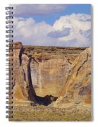 Rock Formations At Capital Reef Spiral Notebook