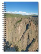 Rock Formations In Black Canyon Spiral Notebook