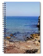 Rock Formations On The Beach, Marcona Spiral Notebook