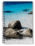 Rock Garden In Water Spiral Notebook