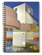Rock Hall Sunset Spiral Notebook