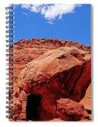 Rock House In Arizona Spiral Notebook