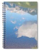 Rock Lake Alberta Canada And Willmore Wilderness Spiral Notebook