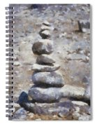 Rock Markers Photo Art 02 Spiral Notebook