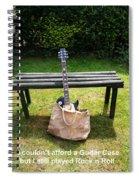 Rock N Roll Guitar In A Bag Spiral Notebook