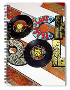 Rock N Roll Is Here To Stay Spiral Notebook