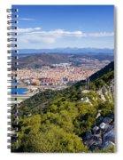 Rock Of Gibraltar Spiral Notebook