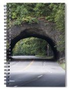 Rock Tunnel On Kelly Drive Spiral Notebook