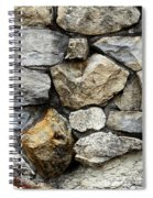 Rock Wall  Spiral Notebook
