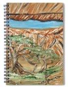 Rock Windows Spiral Notebook