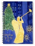 Rockefeller Angel Spiral Notebook