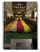 Rockefeller Center In Autumn Spiral Notebook