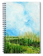 Rockefeller Coastal Marsh Louisiana  Spiral Notebook