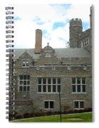 Rockefeller Hall Bryn Mawr Spiral Notebook