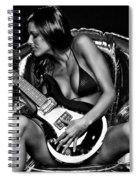 Rocker Chic Spiral Notebook
