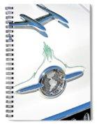 Rocket Car Spiral Notebook