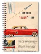 Rocket Oldsmobile Spiral Notebook