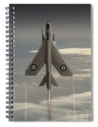 Rocket Ship Spiral Notebook