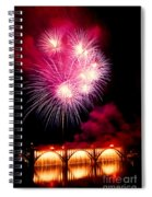 Rockets Red Glare Spiral Notebook