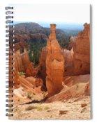 Rockformation  Bryce Canyon Spiral Notebook