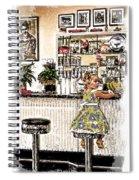 Rockin Robin's Soda Shop Spiral Notebook
