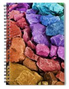 Rocking Abstract Spiral Notebook