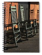 Rocking Chairs Spiral Notebook