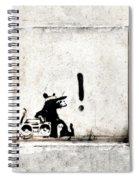 Rocking It Old School  Spiral Notebook