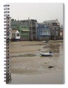 Rockport At Low Tide Spiral Notebook