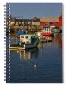 Rockport Harbor No.2 Spiral Notebook