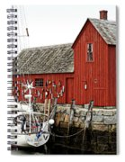 Rockport - Motif Number 1 Spiral Notebook