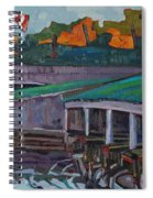 Rockport Roofs Spiral Notebook