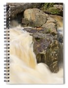 Rocks And Rapids Spiral Notebook
