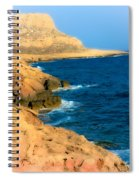 Rocks And Sea Spiral Notebook