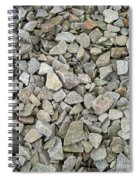 Rocks And Stones Texture Spiral Notebook