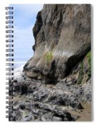 Rocks At Arcadia Beach Spiral Notebook