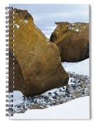 Rocks At Brown Bluff, Antarctica Spiral Notebook