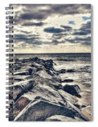Rocks At Cape May Spiral Notebook