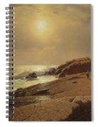 Rocks At Narragansett Spiral Notebook