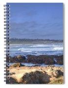 Rocks Before Beach Spiral Notebook