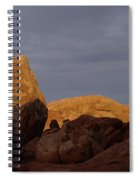Rocks In Arches National Park Spiral Notebook
