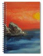 Rocks In The Flathead Lake Spiral Notebook