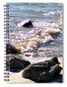 Rocks On The Bay Spiral Notebook
