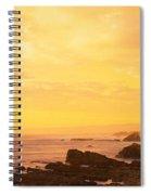 Rocks On The Coast, Mendocino Spiral Notebook