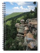 Rocks On The Rim Spiral Notebook